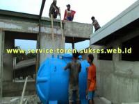pemasangan toren air