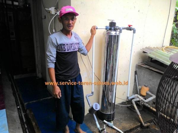 kami menjual filter penjernih air tabung stainlist steel